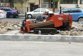 subtraversare strada asfaltata lungime 30 ml