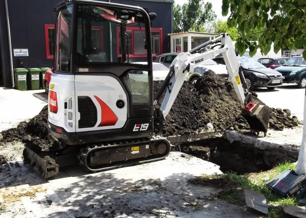 Miniexcavator Bobcat e19